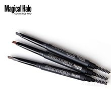 1PC Eyebrow Pencil Liner with Brush