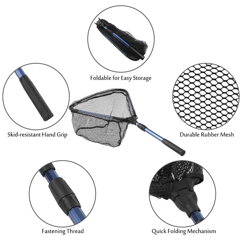 Lixada-Faltbare-Fisch-Kescher-Faltbare-Teleskop-Aluminium-Pole-Griff-Sicher-Fisch-Fang-Freigabe-Fischernetz-Pesca (5)
