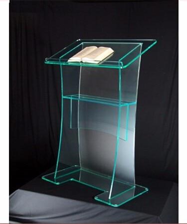 Free Shipping Hot Sale Acrylic Pulpit Church Designs / Custom Acrylic Podium Logo Customize