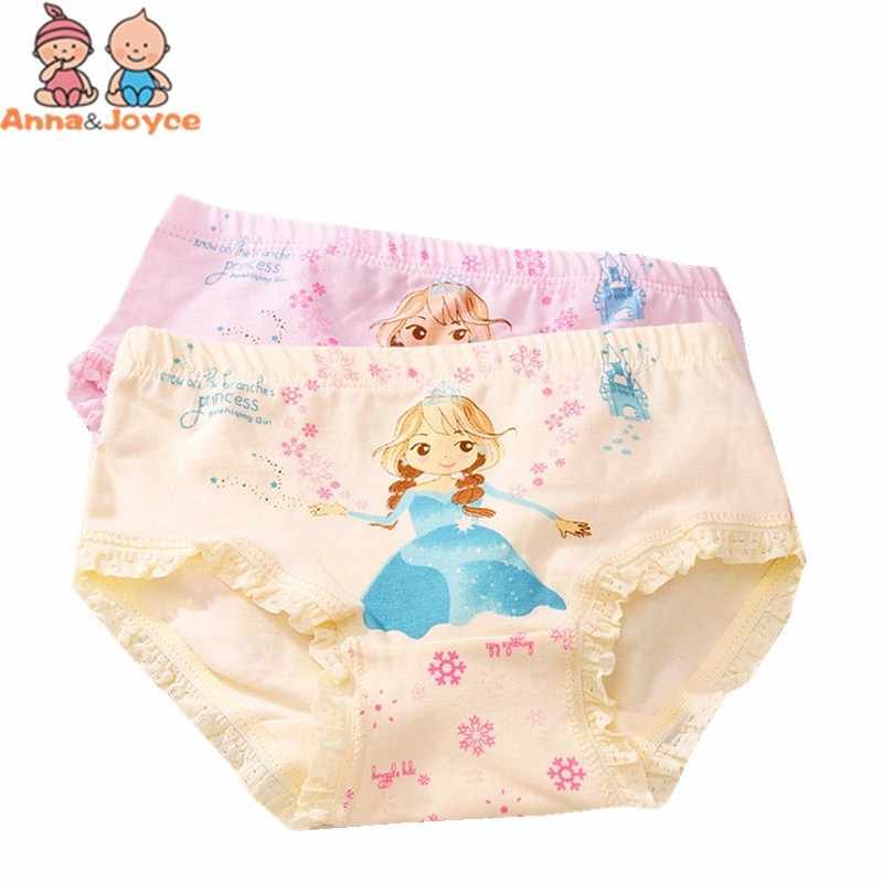 4 pcs/lot girls briefs cute underwear character baby girl underwear panties for 3-8Y B1TNN0097