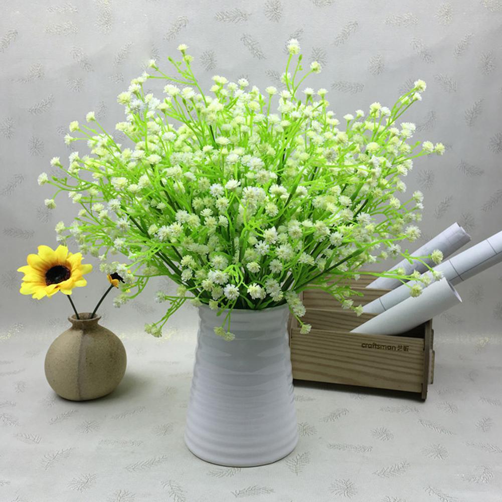 LumiParty Bride Hand Bouquets Artificial Wedding Flower Simulation Babysbreath Holding Bouquet Decoration-40