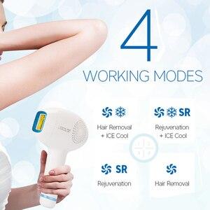Image 4 - Lescolton 3 in 1 IPL Hair Removal ICE Cold Epilator Permanent Laser for Home Bikini Trimmer Electric Photorejuvenation Depilador