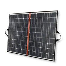 140w foldable panel solar charger 70w*2 Black mono Solar Panels China PV module 12v /24v 10A controller battery solar blanket