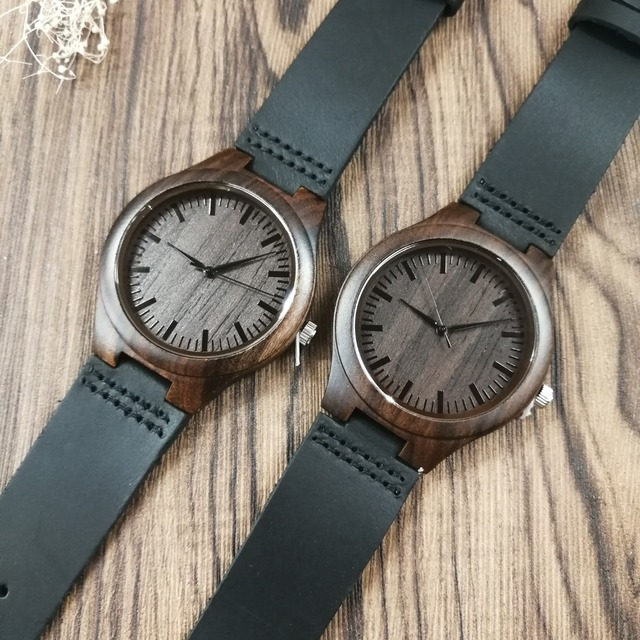 TO MY BOYFRIEND I WILL FOREVER AND ALWAYS BE YOURS AND ONLY YOURS ENGRAVED WOODEN WATCH 3