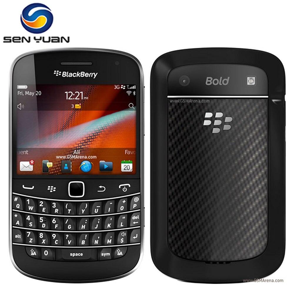 bilder für Original blackberry bold touch 9930 handy handy 8 gb speicher 5mp kamera 3g smartphone kostenloser versand handy