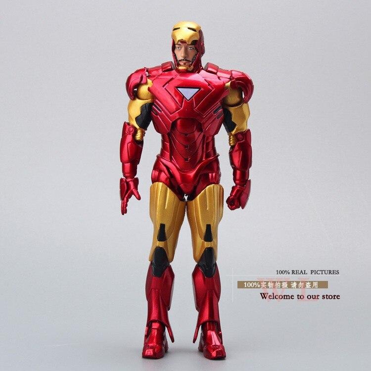 5e491d475 جديد الرجل الحديدي 3 الشكل العمل خارقة الرجل الحديدي مارك 42 pvc الشكل لعبة  20 سنتيمتر على chritmas هدية HRFG063