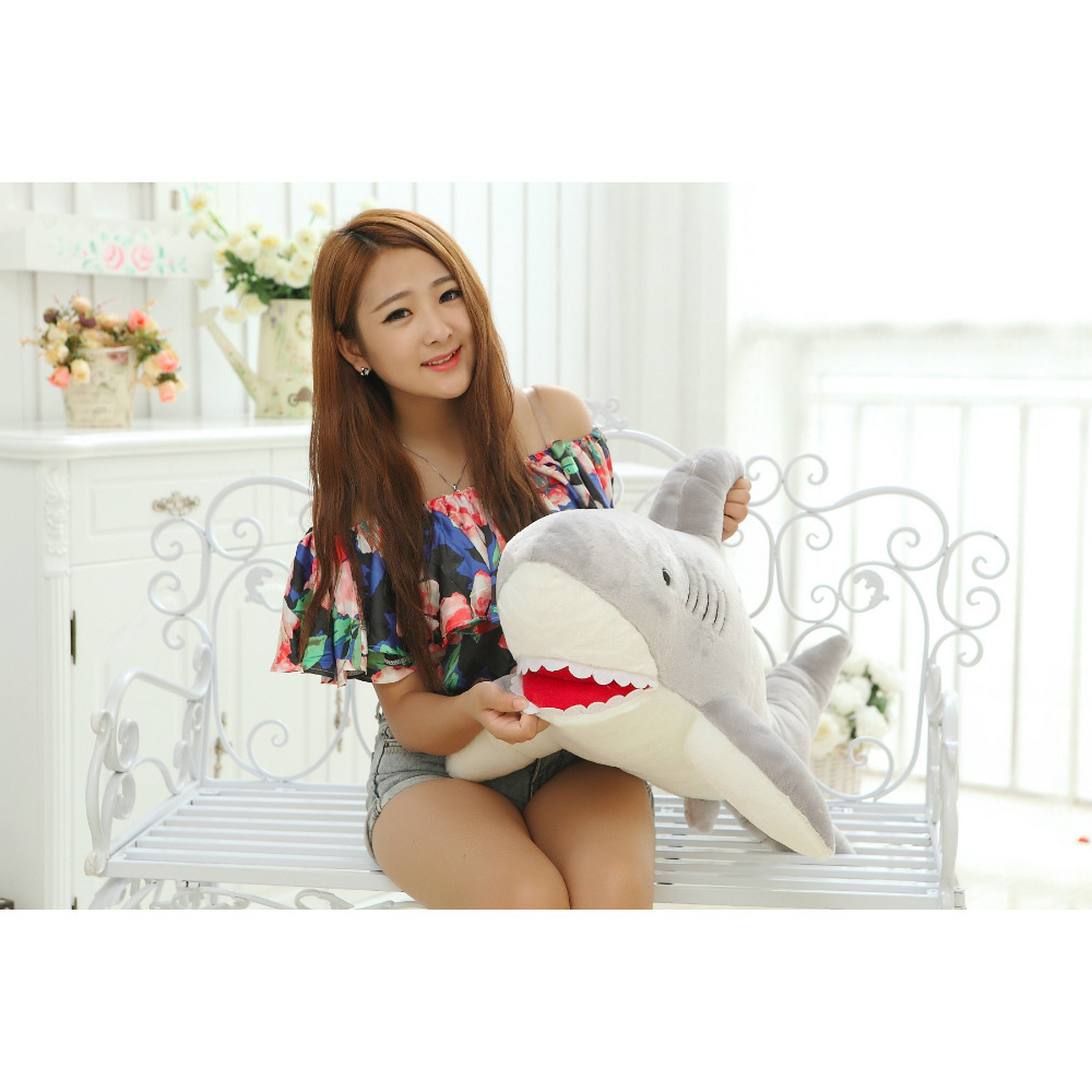 Hanhanho 120cm Shark Ocean Park Gift for Kids Kawii Plush Doll Stuffed Toys