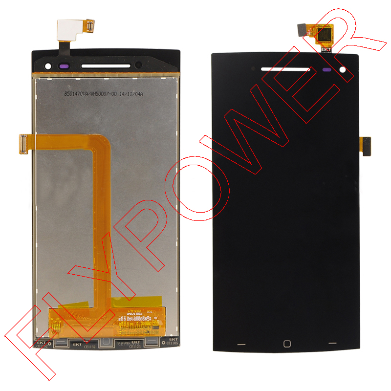 GSM-parts For elephone G6 Lcd Screen Disply with touch screen digitizer assembly Replacement by free shipping