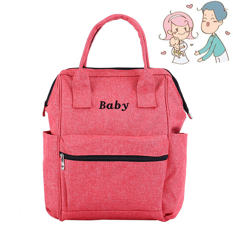 Baby Maternal Pocket Nappy Diaper Bag Large Land Maternity Baby Backpack Organizer Bag For Mom And Baby Toddler Nappy Handbag river cottage baby and toddler cookbook