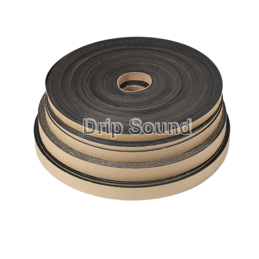 EVA Foam Strip Soundproof Sponge Tape Single Side Sticky Speaker Shockproof Sealing Gasket 10x1mm 15x1.5mm 18x1mm 18x3mm