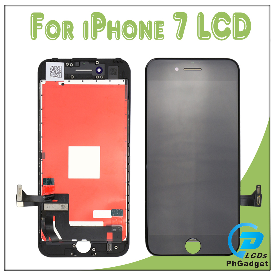 20 PCSlot Touch Screen and Display LCD for iPhone 7 7G black and white Best Quality 100% tested