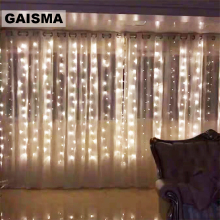 2x2/3x2.5/10x3M Icicle LED Curtain Fairy Lights Garland Christmas Decoration For Party New Year Wedding Lights Holiday Lighting