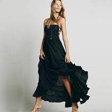 Summer Sleeveless Boho Dress for Women