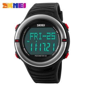 SKMEI Men Sport Watch Pedometer Calorie Clock Man Watches 2 Alarm Outdoor Top Brand Digtal Men's Watch relogio masculino 1111