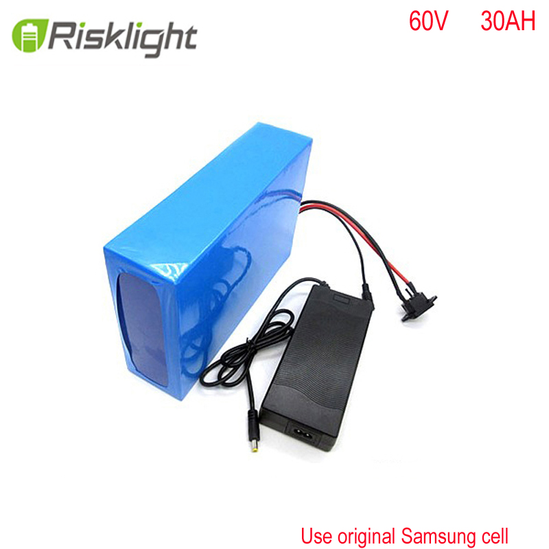 Customized shape 18650 60v 3000w Lithium ion Battery Rechargeable 60v 30ah ebike battery for E-motorcycles  For Samsung cellCustomized shape 18650 60v 3000w Lithium ion Battery Rechargeable 60v 30ah ebike battery for E-motorcycles  For Samsung cell