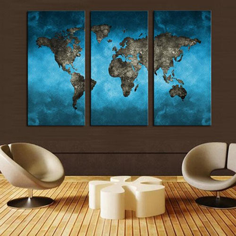 ̀ •́ HUGE MODERN ABSTRACT WALL DECOR ART OIL PAINTING CANVAS no