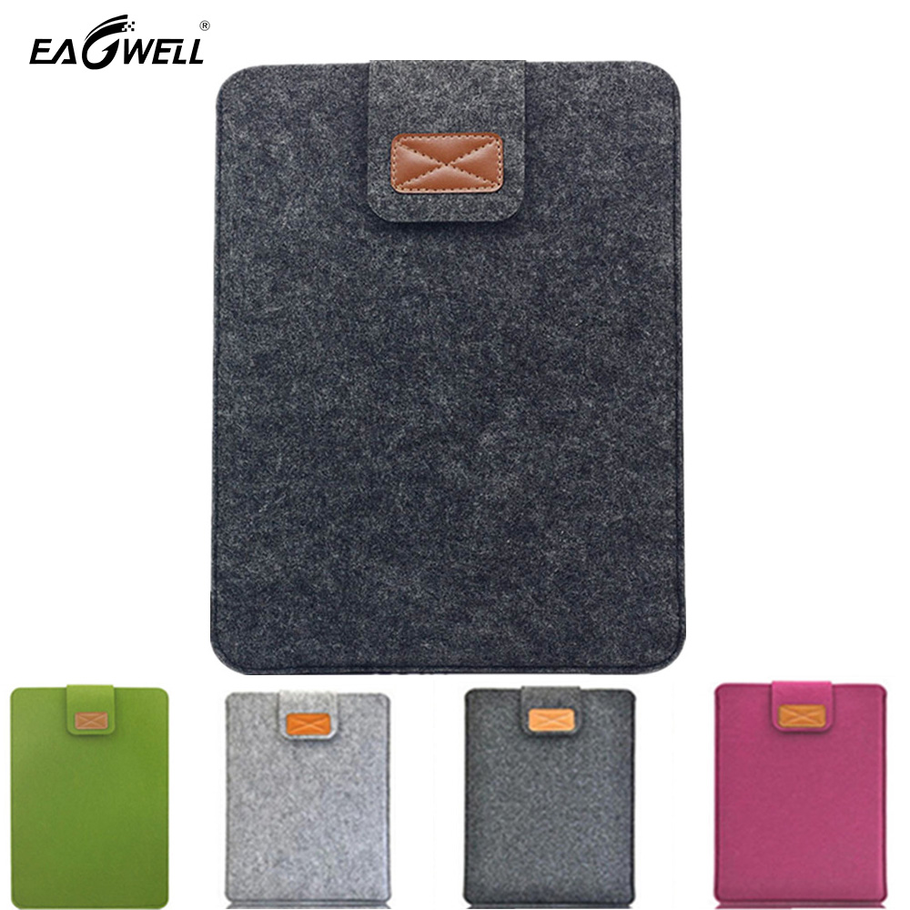 Felt Laptop Slevee Bag For Apple Macbook Mac Air Pro Retina 11 13 inch Notebook Pouch Case Cover Sleeve Briefcase Funda 2016