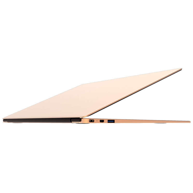 "13.3"" UltraSlim Laptop 4GB RAM+eMMC 64GB+256G SSD Notebook Intel Celeron N3450 HDMI Bluetooth IPS Type-C Fingerprint Recognition"