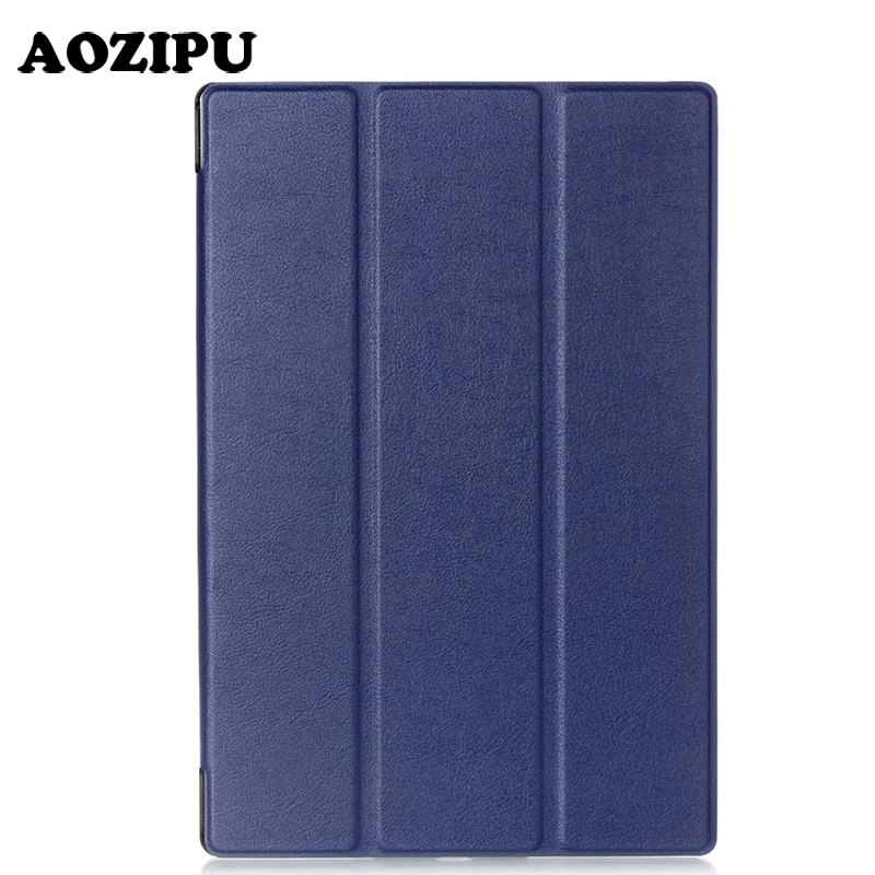 Smart Magnet Falten Flip PU Leder Funda Fall Für Sony Xperia Z2 (10,1