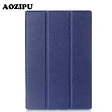 """Inteligente Imán Veces Flip Funda de Cuero de LA PU Caso Para Sony Xperia Z2 (10.1 """"), Z3 (8"""") Z4 (10.1 """") Tablet eReader Cubierta Protectora Del Soporte"""