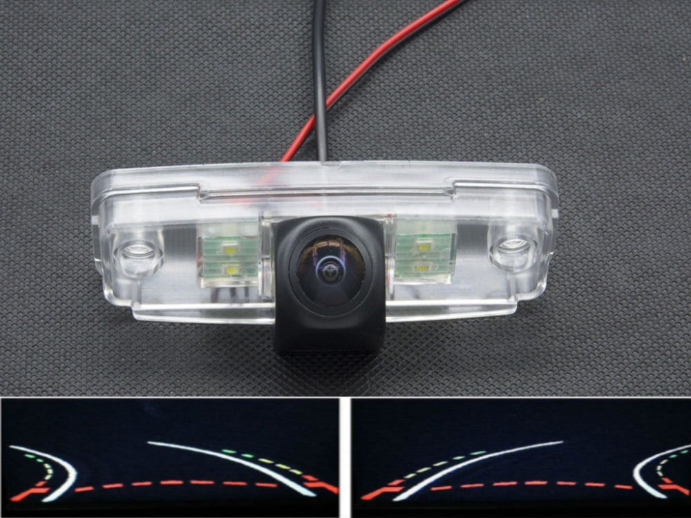 1080P Trajectory Tracks Fisheye Lens Car Rear view Camera for Subaru Outback 2001-2011 Impreza 2009 - 2011 Forester 2008 - 2012