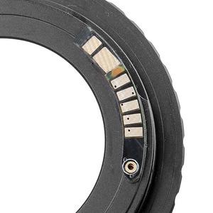 Image 3 - Electronic Chip 10 AF Confirm M42 Mount Lens Adapter for Canon EOS 7DII 6DII 200D 1300D 700D 800D 77D 80D 5Ds R 5DIII 5DIV 1DXII