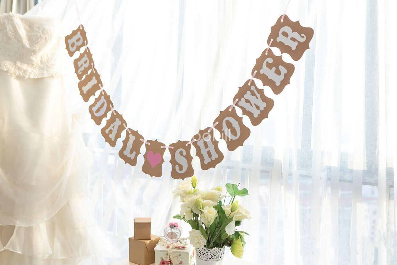 store product bride wedding decoration banner photocall dridal shower bunting photo booth props free