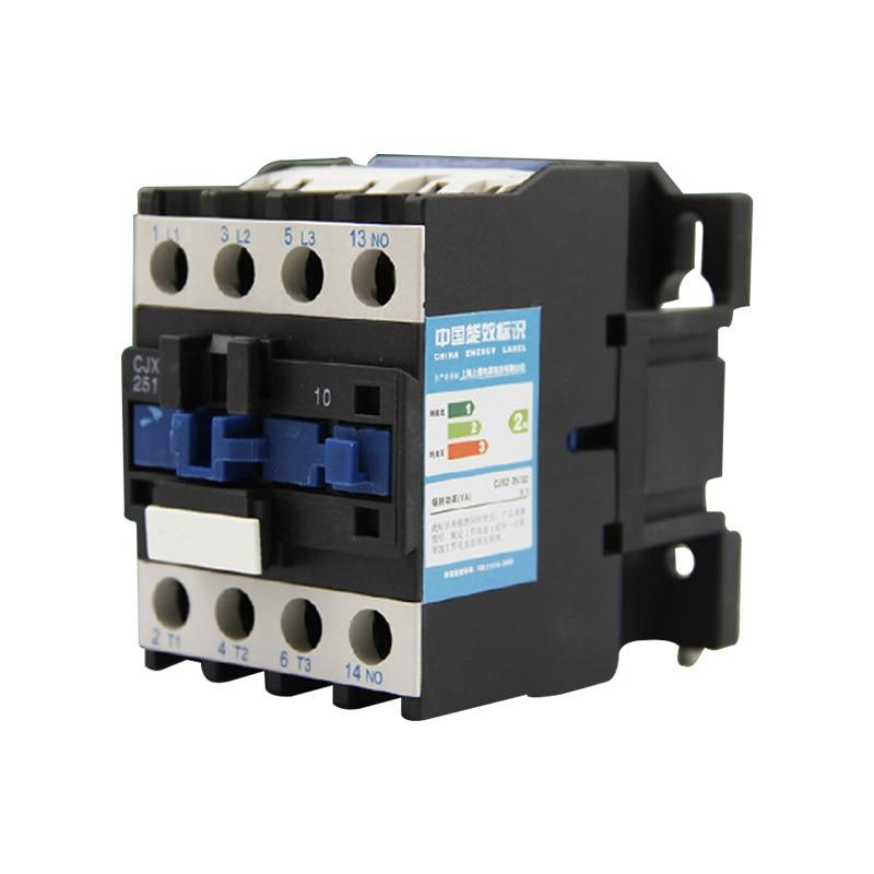 CJX2-2510 25A Interruttori LC1 contattore di CA di tensione 380 v o 220 vCJX2-2510 25A Interruttori LC1 contattore di CA di tensione 380 v o 220 v