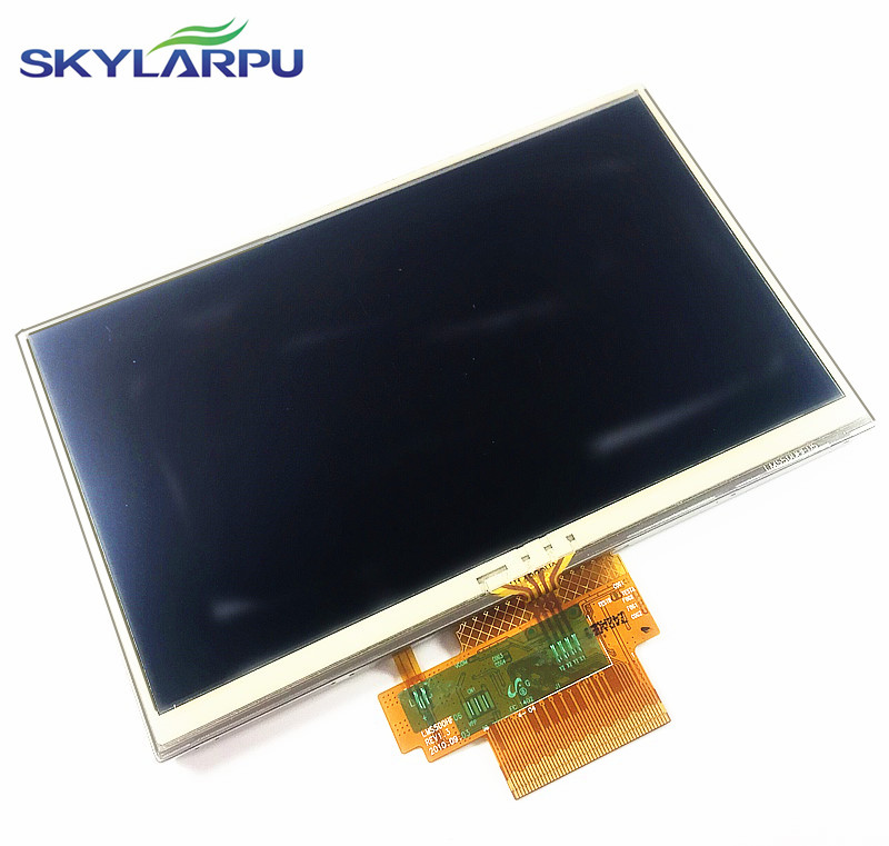 skylarpu 5 inch For TomTom Tom Tom VIA 115 125 GPS LCD display screen with touch screen digitizer panel free shipping skylarpu 5 inch for tomtom xxl iq canada 310 n14644 full gps lcd display screen with touch screen digitizer panel free shipping