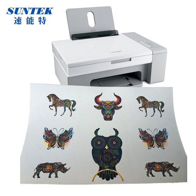 Populares 10 jogos/lote) Jato de Tinta A4 A Laser Papel de Transferência De  OK94
