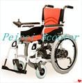 22 inch 8 inch мощный ручной режимы свет складной электрических инвалидных колясок (PPSE-13)