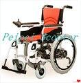 22 pulgadas de 8 pulgadas de gran alcance de luz modos manuales plegable silla de ruedas eléctrica (PPSE-13)