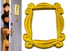 TV Show Bạn Bè Nhựa Màu Vàng Monica của Cửa Lổ Nhìn Trộm Khung Trang Trí Nội Thất Bộ Sưu Tập Bạn Bè Khung Ảnh Mới 2018 Món Quà Sinh Nhật