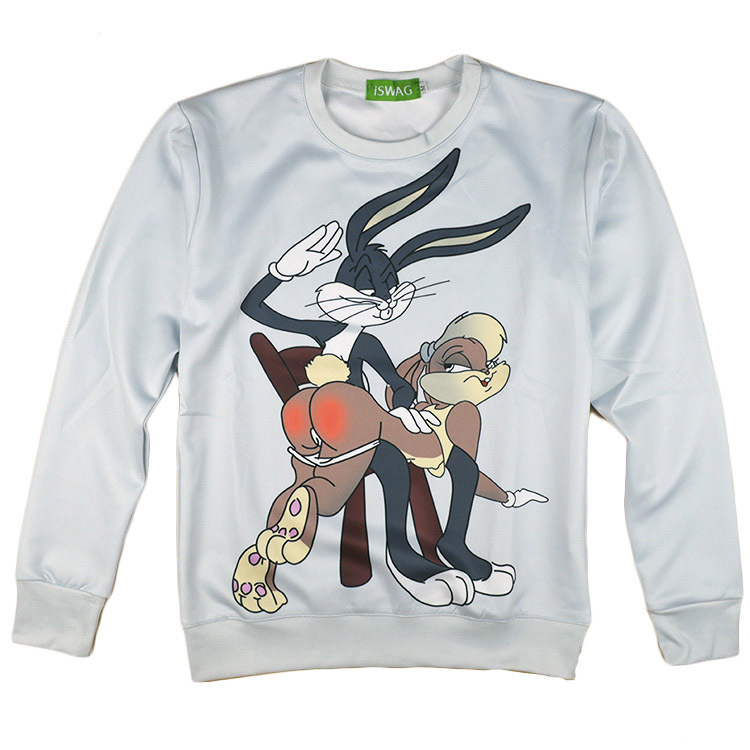 Plus Erwachsenen Looney Toons Sweatshirt