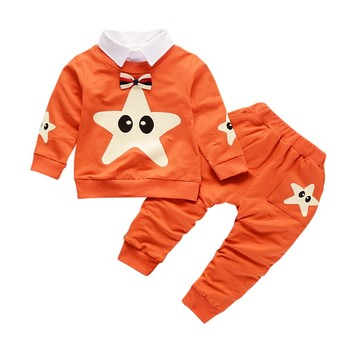 69c4c5cd5 Bobora marca de algodón chico niño recién nacido Ropa conjunto de ropa de  bebé de dibujos
