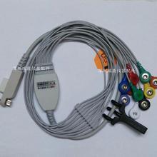 Beijing century dynamic electrocardiogram lead wire guide ten eleven hole button