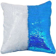 AOVOLL Cushion Cover 40 40 Mermaid Glitter Pillow with Sequin Pillowcase Decorative Pillows Cover Decorative Cushions
