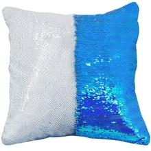 AOVOLL Чехлы 40*40 Русалка блестящая подушка с пайетками наволочка для декоративных подушек Чехол Декоративные подушки для дивана