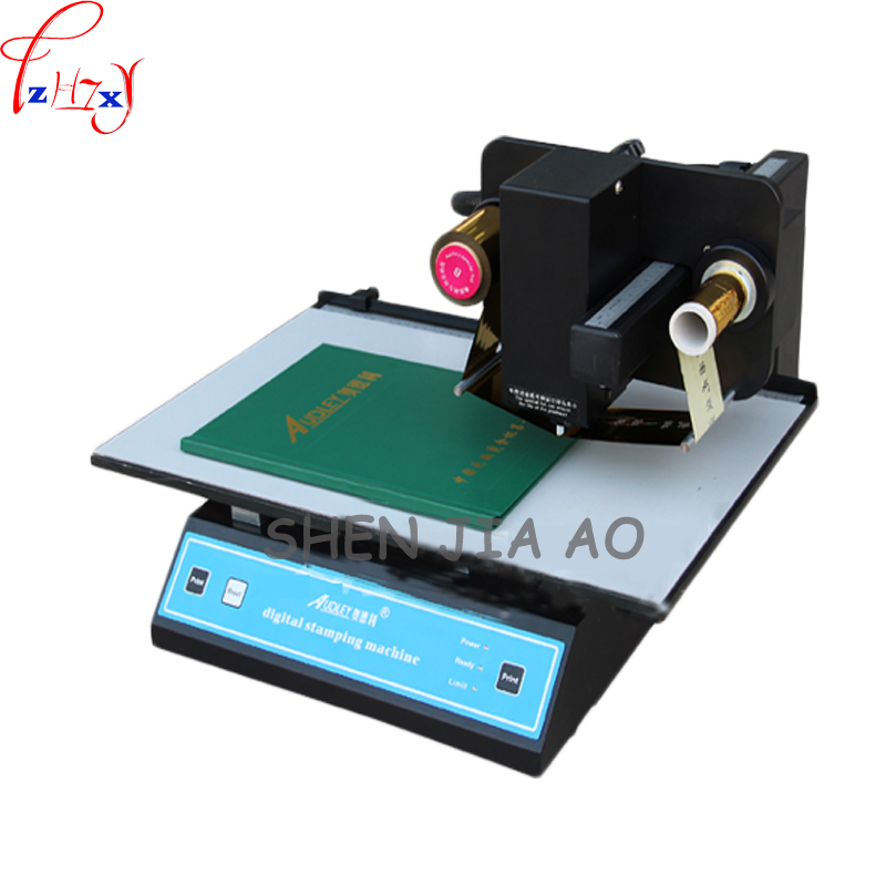 digital bronzing machine gold foil printer vertical automatic digital bronzing machine printer 220V 1pc