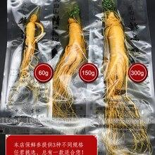 Топ Класс свежий корня женьшенья в вакуумной упаковке и листев свежий корень женьшеня