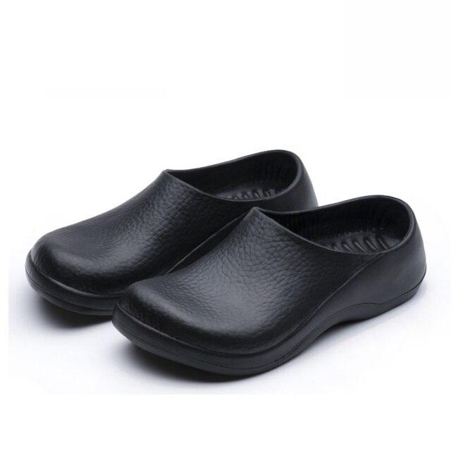 Sandalias de hombre zapatos de trabajo zapatos - Zapatos antideslizantes cocina ...