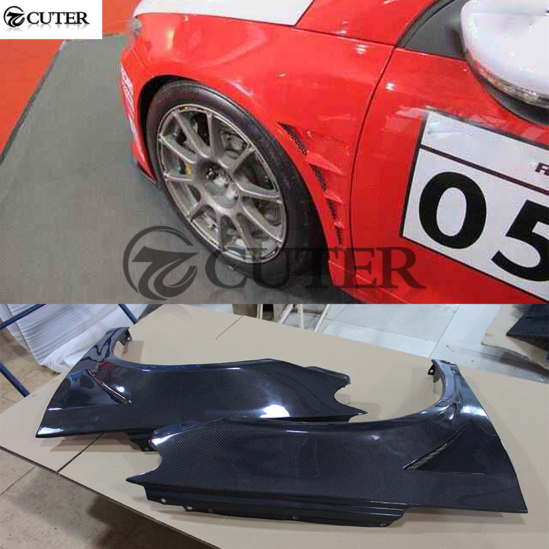 For Volkswagen Scirocco/ R bumper Car carbon fiber front fender car body kit 09-15