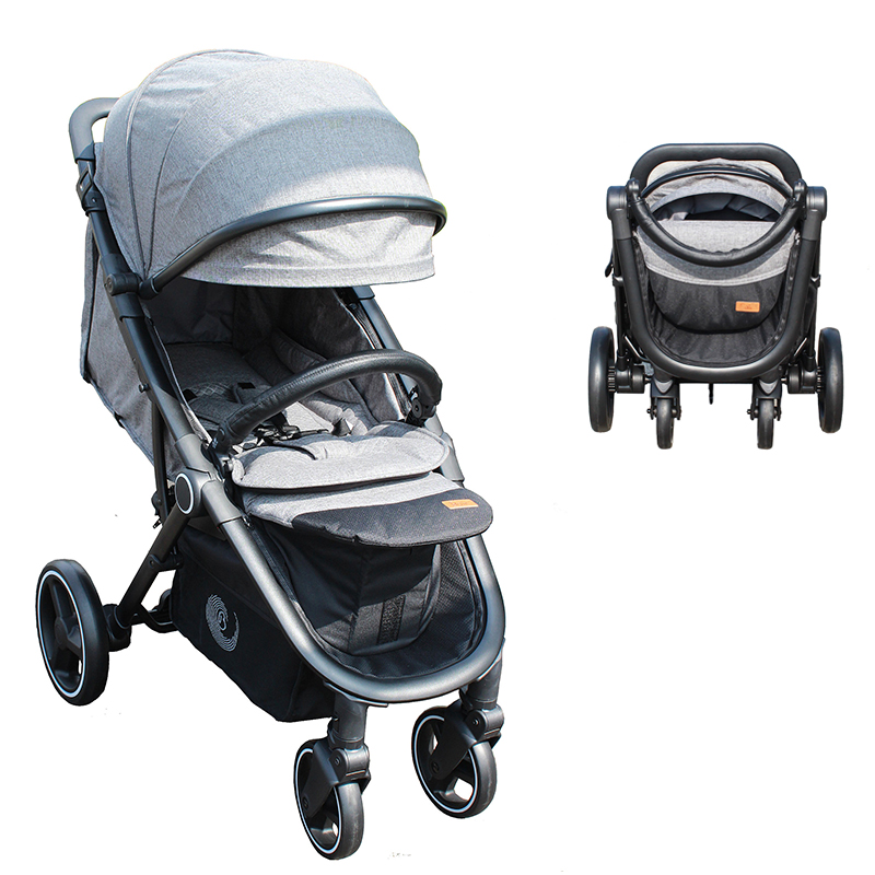 Baby Stroller Portable High Position Pram Spacious Buggy Strollers For Baby European Standard Pushchair newborn strollers high lightweight pram dropshipping wholesale portable baby top stroller carriage strollers fashion pushchair