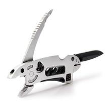 Multi-función de la Llave Jaw + Destornillador + Pinzas + Conjunto de Herramientas Cuchillo Multipropósito Herramienta de Mano Set