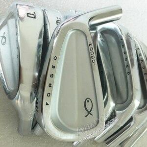 Image 4 - 新しいゴルフヘッド CB 003 鍛造ゴルフアイアン 3 9P 右利きアイアンヘッドセットなしゴルフシャフト Cooyute 送料無料