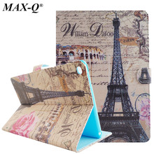 MAX-Q Smart PU Leather Cover For Apple iPad Air 2 Tablets Case for iPad 6 Air 2 Flip Stand Cover Magnetic Wake/Sleep