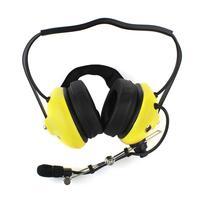 Yellow 2 Pin Soundproofing earpiece headphones for KENWOOD TYT BAOFENG UV5R 888S