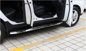 Image 4 - Thicken luxurious running board 사이드 스텝 nerf bar for Nissan X trail Rogue 2014 2015 2016 2017 2018 2019 2020, 로드 300kg,