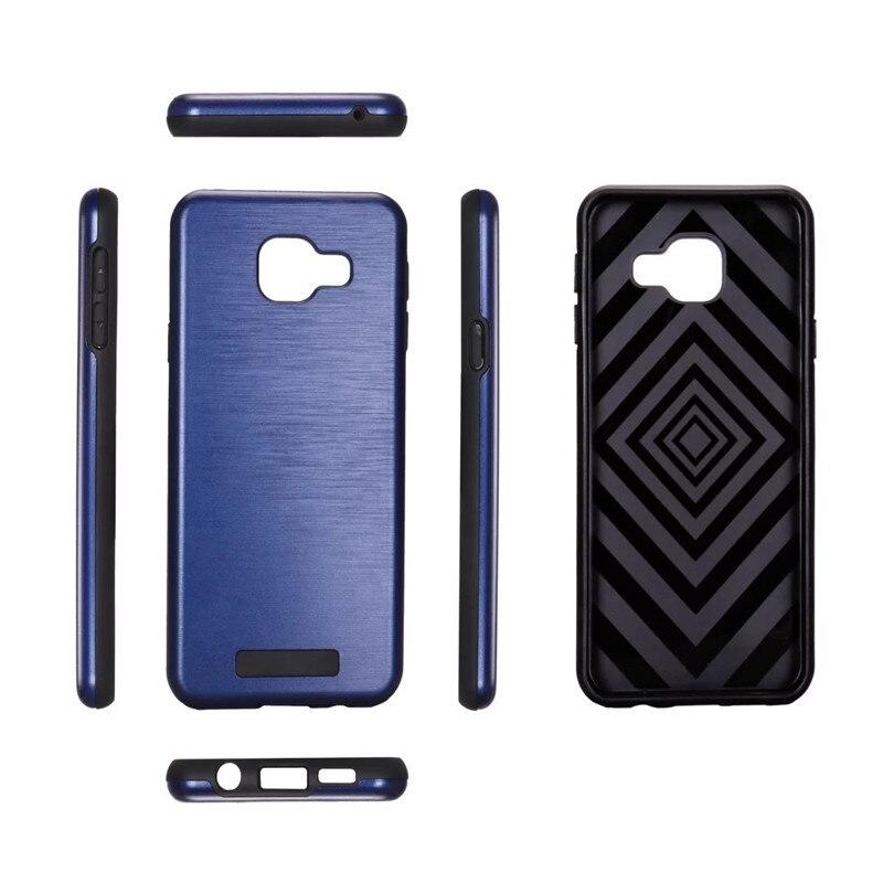 Nuovo Modo Caldo Hybrid Armatura Copertura Per Samsung Galaxy A310 A310F A3  (2016) Coque linee di Trafilatura Cassa Del Telefono Dura del PC e TPU  silicone 385327686844