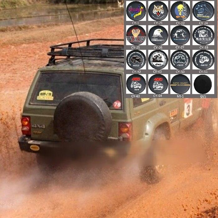 Universal Ersatzrad Reifen Abdeckung PVC Leder Für Jeep Ford Nissan Kia Hyundai Hummer Suzuki Mitsubishi Lada 4X4 VW BMW BENZ